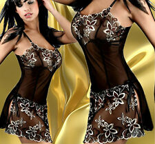 Plus Size Fashion Sexy  Lingerie Sleepwear Chemise With G-String #45