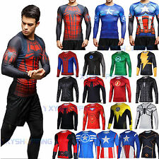 New Exciting Heroes T-shirt Superhero Short Sleeve Jersey Graphic Tee Shirt Tops