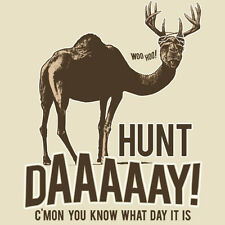 Buck Wear 1414  C'mon you know what day it is Hunt Day!  Hunting Shirt Men's