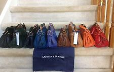 Dooney & Bourke Florentine Leather Mini Zip Crossbody (2 Colors Remaining)