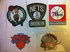 (2) NBA Basketball Team LOGO Stickers Pick Your Team NEW Free Shipping