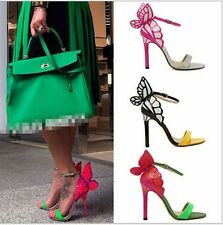 Sophia Vampire Diaries fantasy butterfly wing pointed 11.5CM high-heeled Sandals