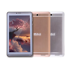 "IRULU Platinum P2 7"" New 3G Dual SIM Phablet Quad Core GPS Android 4.4 Tablet PC"
