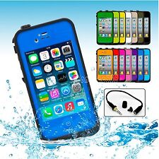 New Waterproof Shockproof Heavy Duty Hard Case Cover for Apple iPhone 4S 4 4G