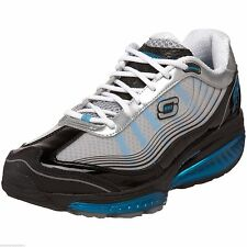 52081 Black Blue Skechers SRR Shape Ups Resistor Sneakers 52081
