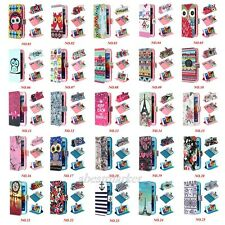 Various Soft Leather TPU Wallet Stand Folio Flip Case Cover For Samsung Galaxy