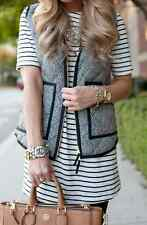 J.Crew Herringbone Vest Novelty Quilted Puffer Vest XS S M L NEW WITH TAGS