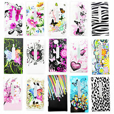 Flower Hard Plastic Cell Phone Shell Protective Case Cover For Nokia Lumia 800
