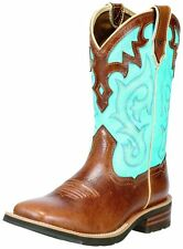Ariat Western Boots Womens Cowboy Unbridled Coyote Brown 10010195