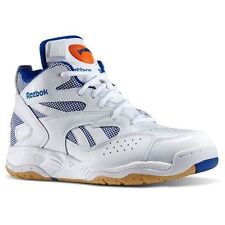 [M43355] REEBOK PUMP D TIME M WHT/ROYAL/ORG SIZES 8 TO 13 NIB