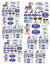 1:24 1:64 1:32 FORD SmALL DECALS FOR DIECAST & MODEL DISPLAYS OR DIORAMAS FORD1