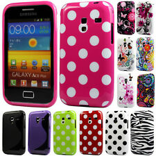Silicone TPU Gel Bumper Case Cover Sleeve Skin For Samsung Galaxy Ace Plus S7500