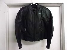 New Shift Racing M1 Leather Motorcycle Jacket Woman's Black 70055 In Stock