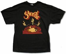"GHOST ""N.A. TOUR 2013"" BLACK T-SHIRT NEW OFFICIAL ADULT METAL BAND BC"