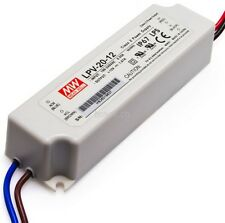 Mean Well LPV Series LED Constant Voltage Driver CE UL Approved Brand New