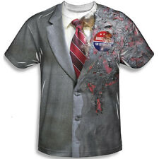 Harvey Dent The Dark Knight T-Shirt Costume Two Face Batman New