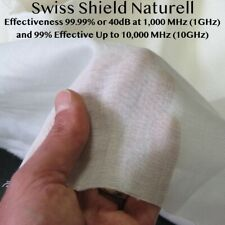 Radio Frequency Shielding Fabric RF Blocking Fabric Swiss Shield Naturell