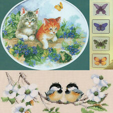 Needlework Needlepoint counted Cross Stitch Kits Animals & Insect Christmas Gift