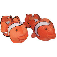 Comfy Feet Clown Fish Slippers