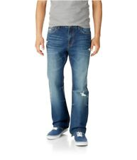 Aeropostale Mens Driggs Slim Boot Cut Jeans