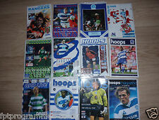 QPR Home Programmes 1990/91 to 2007/08   Select from list