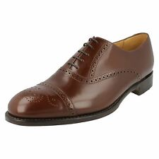 Loake 'Oban' Mens Brown Leather Brogue