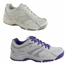 WOMENS LADIES WHITE SLAZENGER BASELINE W RUNNING SPORTS ATHLETIC RUNNERS SHOES