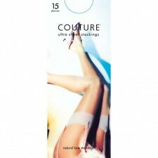 Couture Womens/Ladies Nylon 15 Denier Stockings (1 Pair)