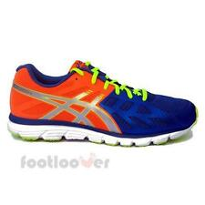 Shoes Asics Gel Zaraca 3 T4D3N 4293 Man running Blue Orange Neon nylon mesh