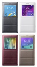 SAMSUNG Galaxy Note 4 SM-N910 Genuine Original S View Cover Case with Retail Box