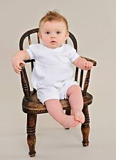 Evan Christening Outfit - Baby Boys 1 Piece Set Christening Outfit Only - White