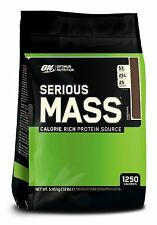 Optimum Nutrition Serious Mass Weight Gainer Protein Carb Powder Drink, 12lb