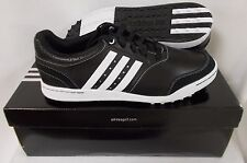 New Adidas Adicross III Spikeless Golf Shoes Q46788 - Black/White