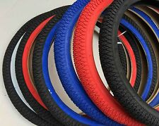 Pair of Duro 20x1.95 BMX Freestyle Bike Tires color available:  red blue black