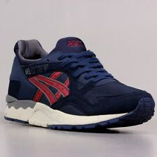 [H5D0Y5025] ASICS GEL LYTE V NAVY/BURGUNDY MEN'S SIZE 8 TO 12 NIB