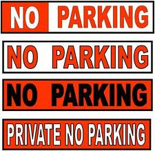 NO PARKING SIGN  PRIVATE NO PARKING  METAL NO PARKING SIGN
