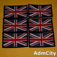 1 Union Jack Britain Uk Flag Sew on Embroidered Badge Patch Biker Rock England