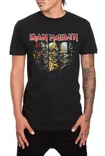 Licensed IRON MAIDEN Eddie Evolution Heavy Metal Mens T-Shirt Black S M L XL 2XL