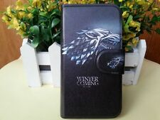STARK Monster Game of Thrones PU Leather Flip Case Cover For LG Google Mobile