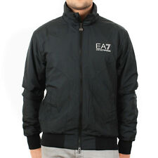 Mens EA7 Emporio Black Train Stand Alone Blouson Armani Jacket Coat Casual