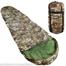 MILITARY SLEEPING BAG COMPRESSION SACK BTP MTP BRITISH ARMY CADET SCOUT FIELD