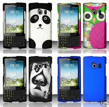 Quality Phone Cover COLOR / DESIGN Case FOR Huawei Ascend Q M660 (Cricket)