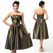 CRAZY CHEAP!! Bridesmaid Homecoming Gown Evening Graduation PROM Party Dresses