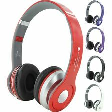 Wireless Bluetooth Sport Stereo Headset HandsFree Headphone Folding EarPhone