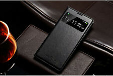 Top Quality Window View Mobile Flip case cover for Samsung Galaxy S4 Low Price
