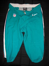 MIAMI DOLPHINS TEAM ISSUED AQUA NIKE PANTS FROM 2012 SEASON ALL SIZES! BIG SALE!