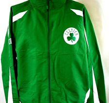 NEW Mens MAJESTIC NBA Boston Celtics Zip Up Lightweight Green Jacket Large