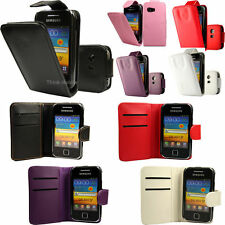 Flip Pu Leather Flip Case Wallet Cover For The Samsung Galaxy Y S5360