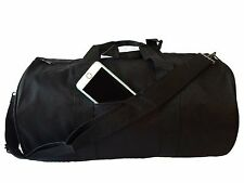 """Polyester ROLL Duffle Duffel Bag Travel/Gym/Carry-On Sport Gym Bag 18"""" ALL COLOR"""