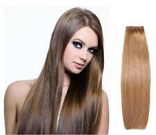 "14"" Straight Genuine European Remy AAAA Grade Human Hair Extensions Weft / Weave"